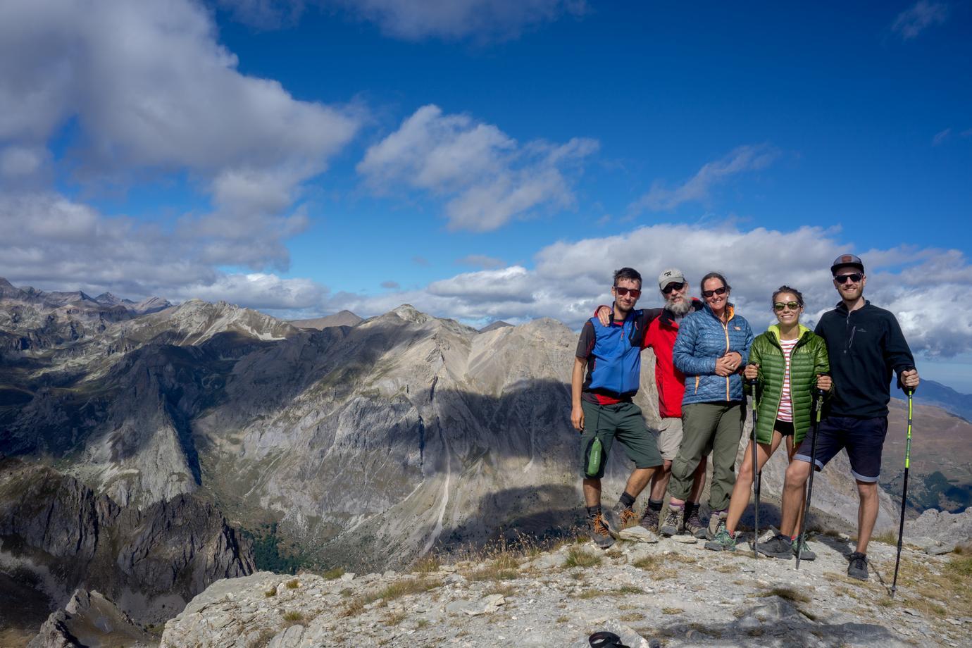 team building vetta trekking alpi natura