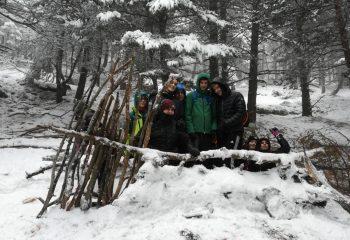 educazione ambientale gita soggiorno scolastico neve ciaspole attività all'aperto montagna cooperazione
