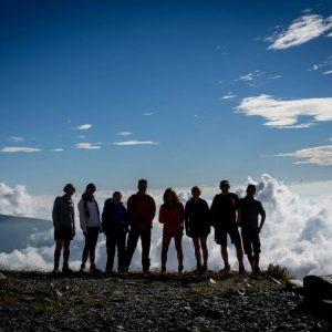 team building alpino giro monviso rifugio sella